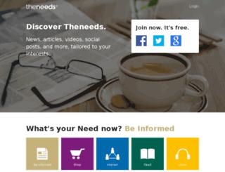 video.theneeds.com screenshot
