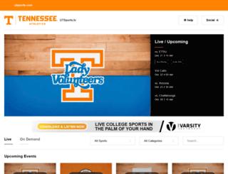 video.utsports.com screenshot