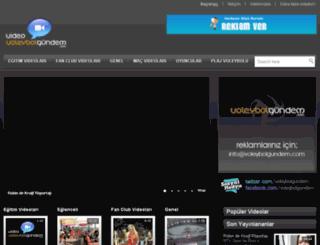 video.voleybolgundem.com screenshot
