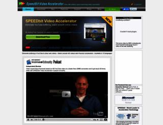 videoaccelerator.com screenshot