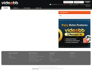 videobb.com screenshot