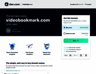 videobookmark.com screenshot
