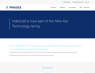videocall.co.uk screenshot