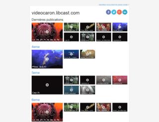 videocaron.libcast.com screenshot