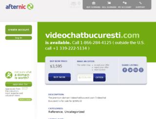 videochatbucuresti.com screenshot