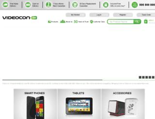 videocon.ae screenshot