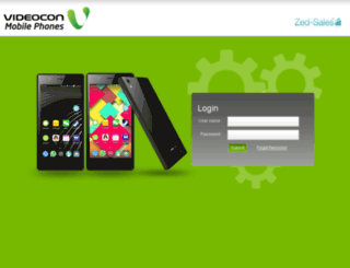 videocon.zedsales.in screenshot