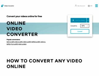 videoconverter.com screenshot