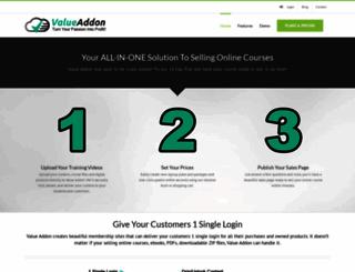 videocreationforcoaches.valueaddon.com screenshot