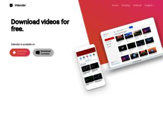 videoder.net screenshot