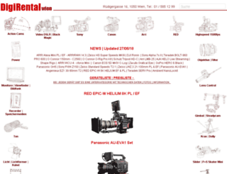 videodigitalkameraverleih.at screenshot