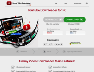 videodownloader.ummy.net screenshot