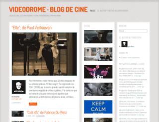 videodrome.wordpress.com screenshot
