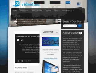 videofied.com.au screenshot