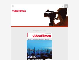 videofilmen.schiele-schoen.de screenshot