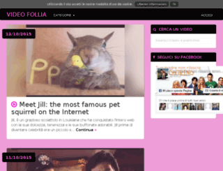 videofollia.info screenshot