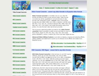 videoformat-converter.com screenshot