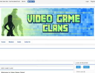 videogameclans.com screenshot