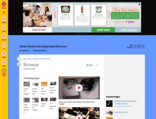 videogamedevelopmentdevices.wikia.com screenshot