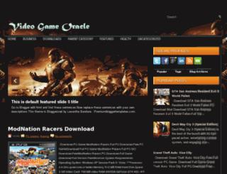 videogameoracle.blogspot.com screenshot