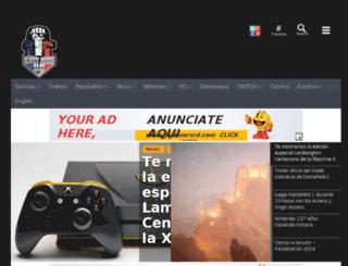 videogames.raccoonknows.com screenshot