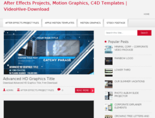 videohive-download.com screenshot