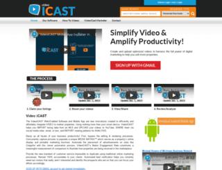 videoicast.com screenshot