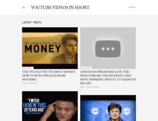 videoinshort.com screenshot