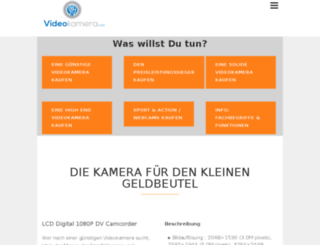 videokamera.com screenshot