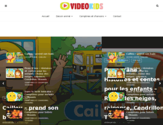 videokids.fr screenshot