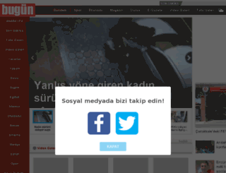 videolar.bugun.com.tr screenshot