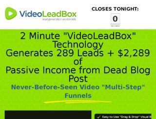 videoleadbox.net screenshot