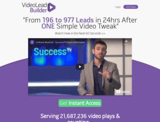 videoleadbuilder.com screenshot