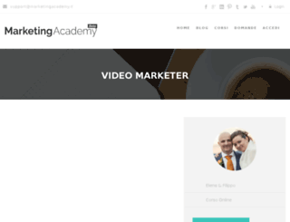 videomarketer.it screenshot