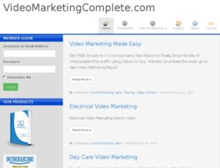videomarketingcomplete.com screenshot