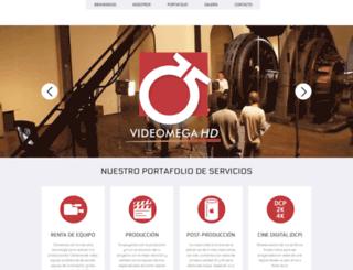 videomega.com.mx screenshot