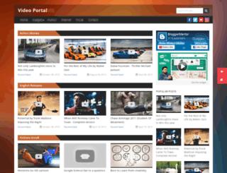 videoportal-theme.blogspot.in screenshot