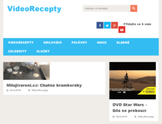 videorecepty.info screenshot