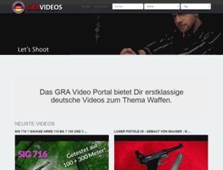 videos.german-rifle-association.de screenshot