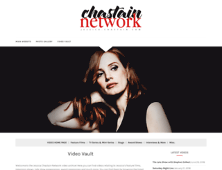 videos.jessica-chastain.com screenshot
