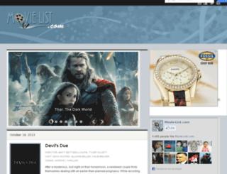 videos.movie-list.com screenshot