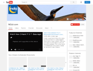 videos.nola.com screenshot