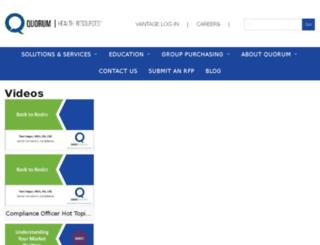 videos.qhr.com screenshot