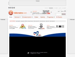 videos.telemetro.com screenshot