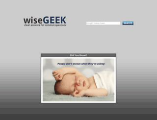 videos.wisegeek.com screenshot