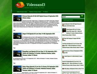 videosand3.blogspot.com screenshot