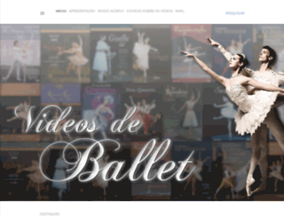 videosdeballetclassico.blogspot.com.br screenshot