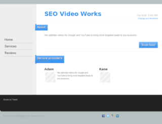 videoseo.simplybook.me screenshot