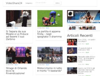 videoshare24.it screenshot