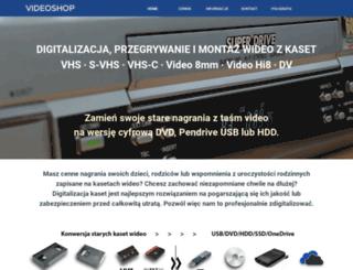 videoshop.com.pl screenshot